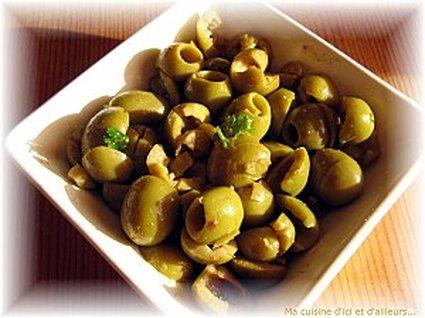 Recette de salade d'olives