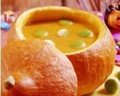 Recette soupe d'halloween