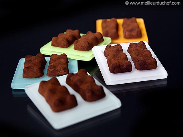 Ourson guimauve chocolat  recette de cuisine avec photos ...
