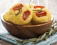 Recette muffin salé aux tomates cerises et saumon surprise