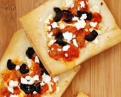 Recette tarte tomates chèvre