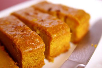 Recette de cake de patates douces aux notes exotiques