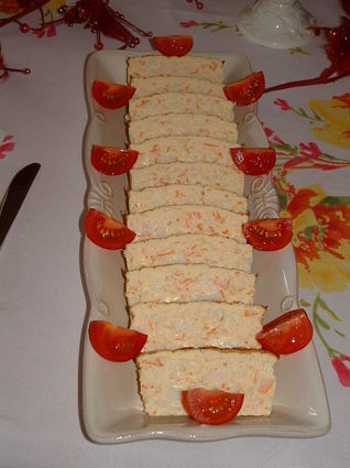 Recette de cake crabe et asperges