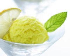 Recette glace au citron minceur