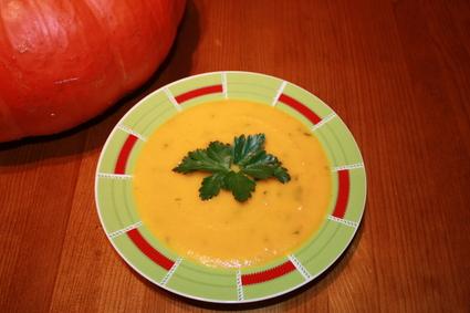 Recette de soupe à la citrouille