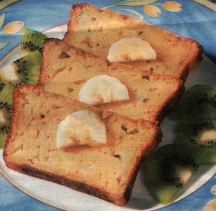 Recette de cake à la banane et à l'orange