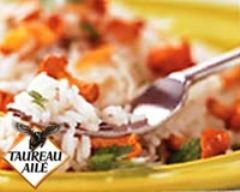 Riz thaï primeur sauté aux girolles et aux amandes | cuisine az
