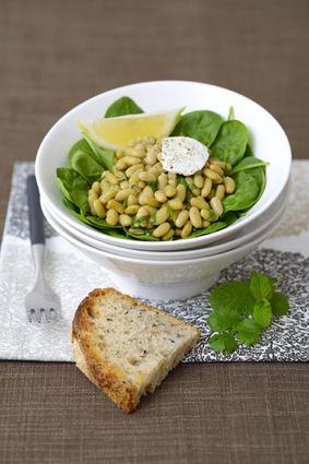 Recette de salade chaude de flageolets aux épices