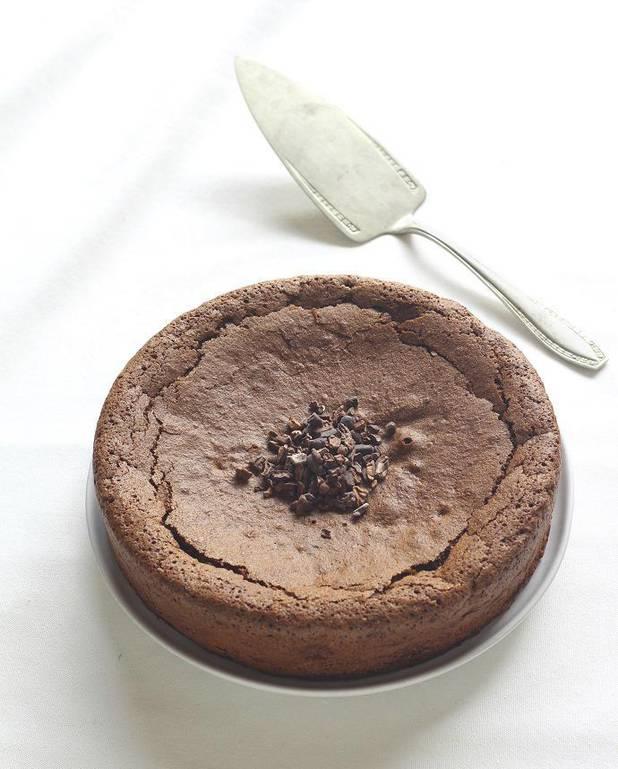 Gâteau sans gluten au cacao pour 6 personnes