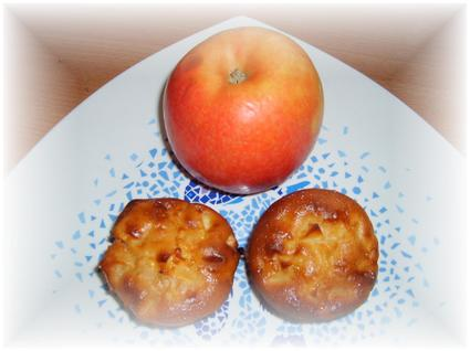 Recette de muffins pommes salidou