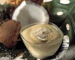 Recette mousses de fruits exotiques parfumées coco