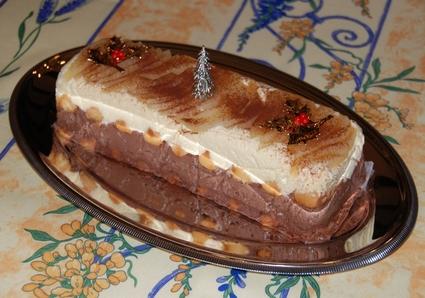 Recette de bûche façon tiramisu poire et chocolat