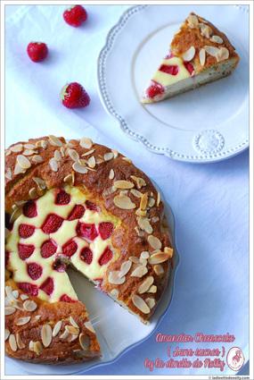 Recette amandier façon cheesecake aux fraises sans sucre