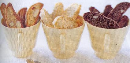 Recette de biscotti