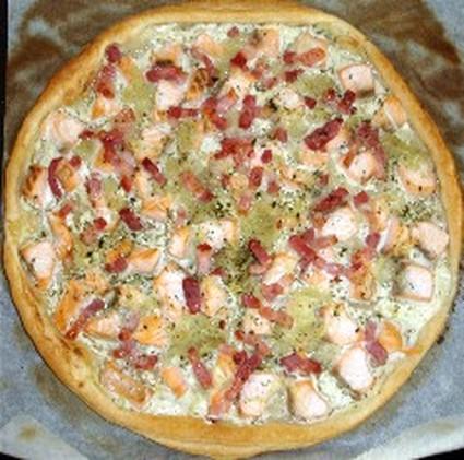Recette tarte fine au saumon (tarte salée)