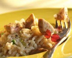 Recette risotto au foie gras