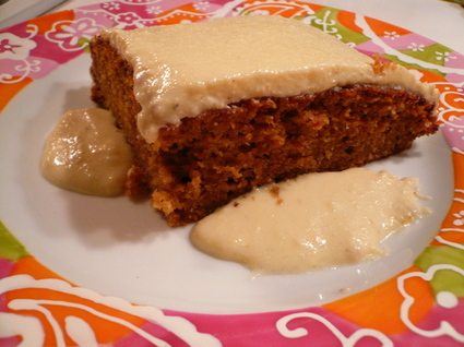 Recette de gâteau aux carottes des usa