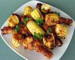 Recette poulet et blé d'inde grillés à la cajun