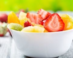 Recette salade de fruits de saison