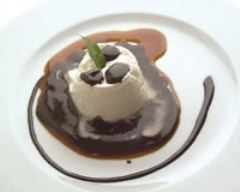 Recette mousse de chocolat blanc et sa sauce chocolat