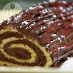 Recette bûche à la mousse au chocolat – toutes les recettes ...