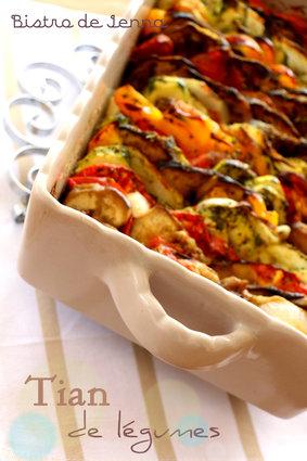 Recette de tian de légumes de provence