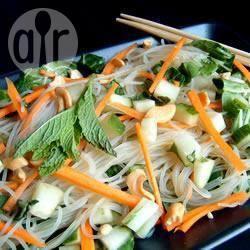 Recette salade de nouilles de riz à la vietnamienne – toutes les ...