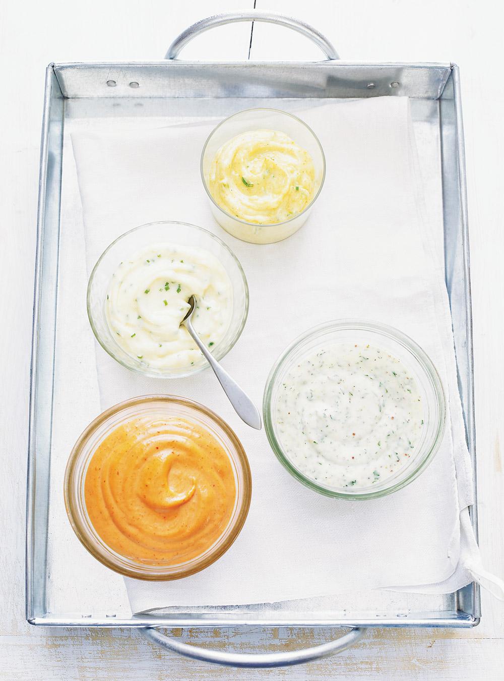 Mayonnaise à l'ail (aïoli) (pour frites, artichauts, escargots, burgers ...