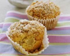 Recette muffins au crumble de pommes