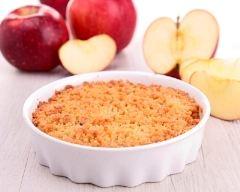 Recette crumble facile aux pommes express