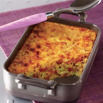 Recette de gratin d'hiver quinoa gourmand tipiak®, endives et ...
