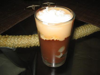Recette de verrine poire-chocolat-praliné