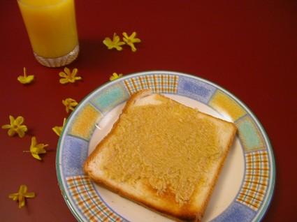 Recette de toast du bonheur