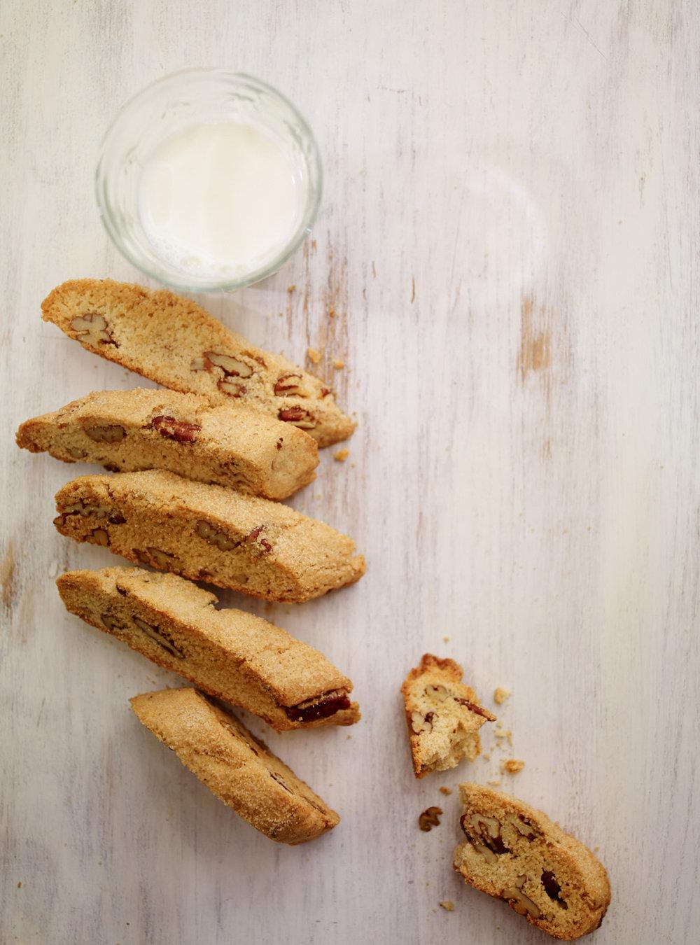 Biscottis à l'érable et aux pacanes | ricardo