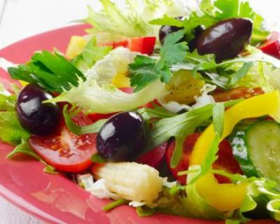 Recette salade fraîcheur aux olives noires