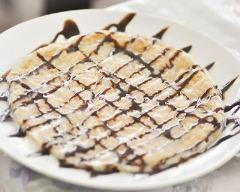 Recette omelette sucrée au chocolat