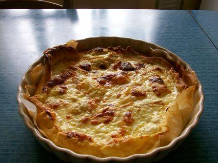 Recette tarte au maroilles (entrée chaude)