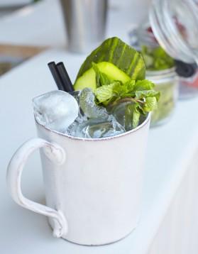 Cocktail sureau concombre pour 1 personne