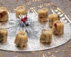 Recette trio de mini cannelés aux tomates séchées, aux olives et ...