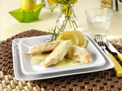 Recette de poulet à la sauce kiri ® moutarde