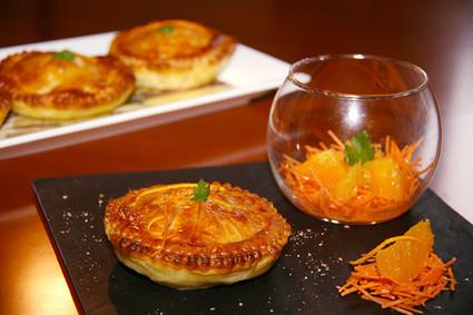 Recette de tourte de veau aux carottes et à l'orange
