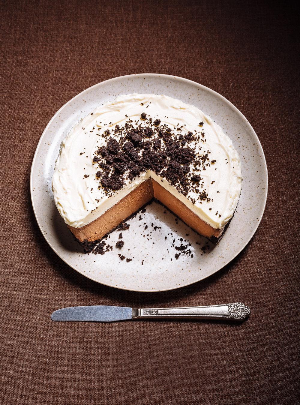 Gâteau au fromage triple chocolat | ricardo