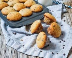 Recette mini muffins aux pépites de chocolat