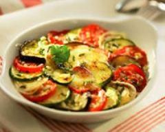 Recette gratin de légumes du soleil