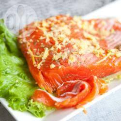 Recette saumon cru au gros sel – toutes les recettes allrecipes