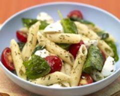 Recette salade de pâtes aux légumes d'été