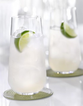 Cocktail rhum tonic au citron pour 1 personne