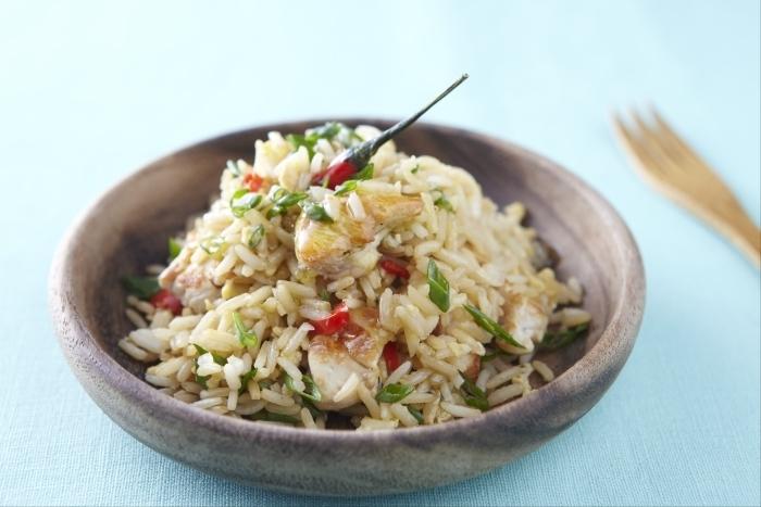 Recette de khao phat (riz sauté à la thaïlandaise) facile et rapide