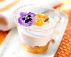 Recette fromage blanc au lait de brebis et sa compotée d'abricots