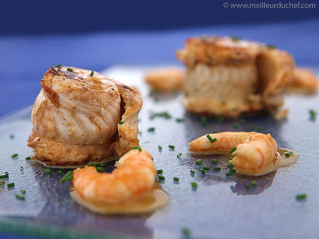 Paupiette de sole farcie et crevettes  fiche recette illustrée ...